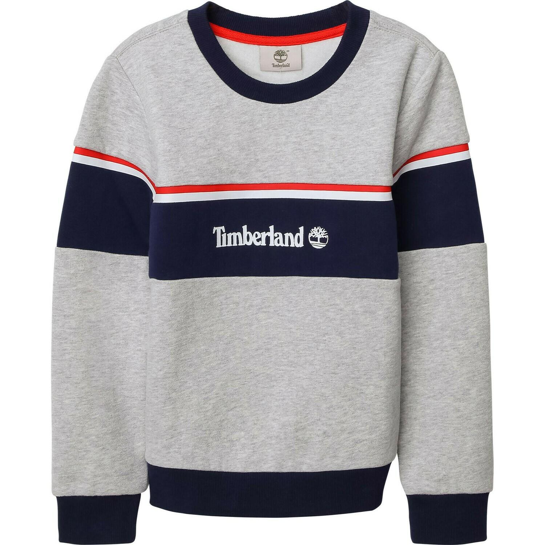 Timberland Boys Grey Sweatshirt with Logo