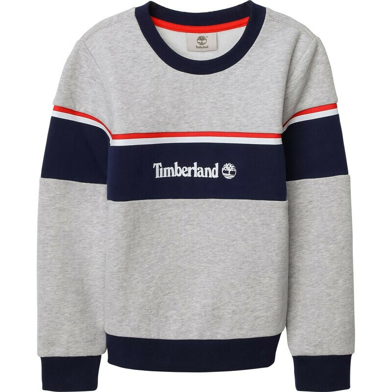 Timberland Boys Grey Sweatshirt with Logo