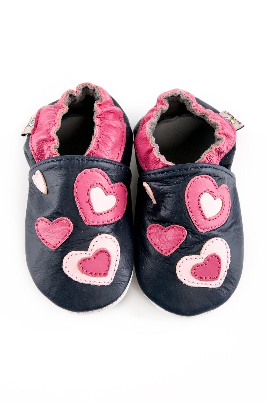 Shoobees Hearts Baby Shoes