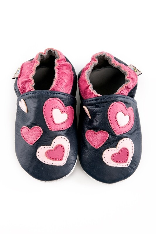 Shoobees Hearts Baby Shoes