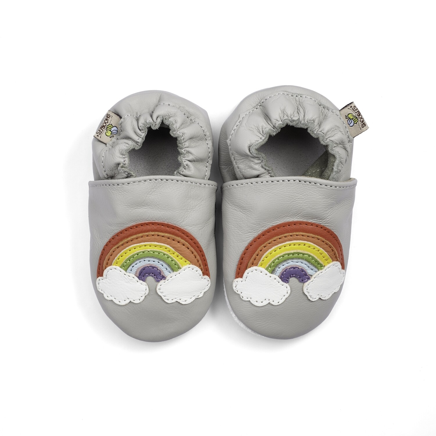 Shoobees Rainbow Baby Shoes
