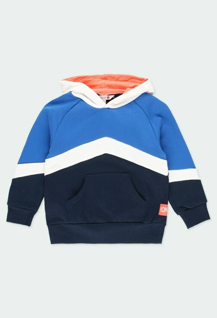 Boboli Boys Fleece Sweatshirt with Hood