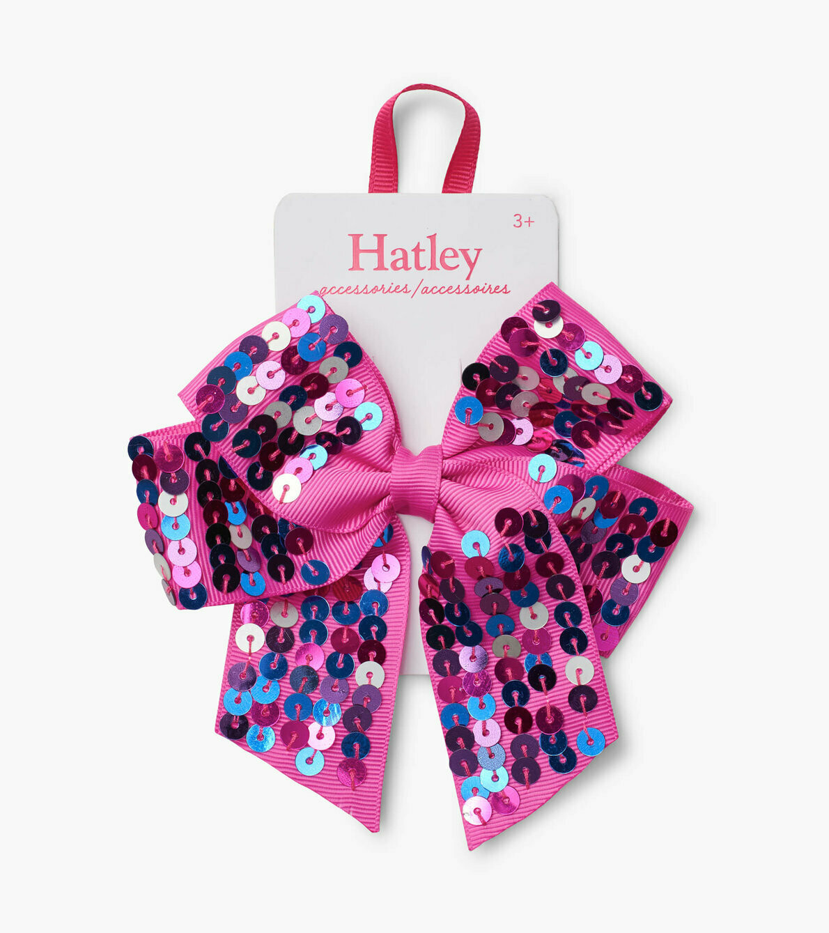 Hatley Pretty Sequinned Large Bow Clip