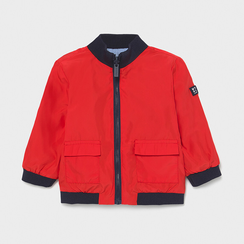 Mayoral Baby Boy Reversible windbreaker jacket Red / Blue