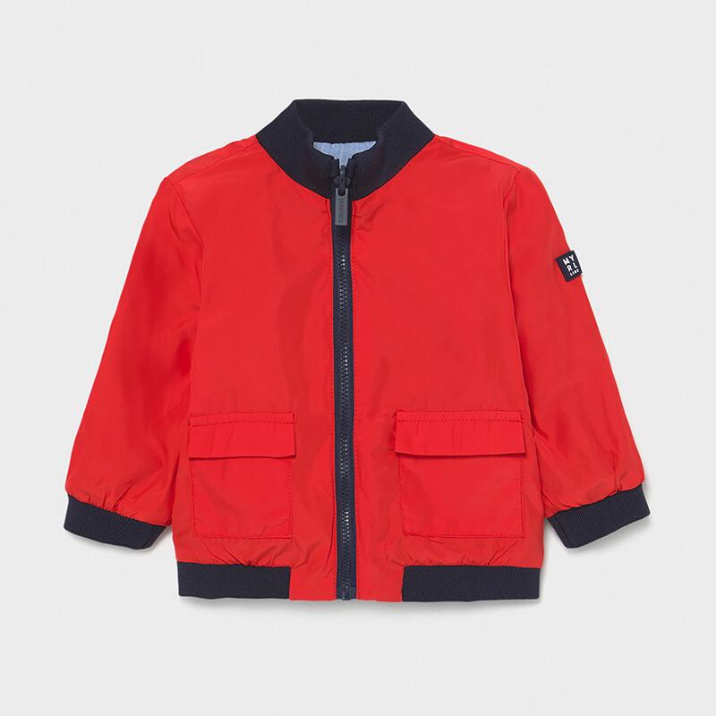Mayoral Baby Boy Reversible windbreaker jacket Red / Blue