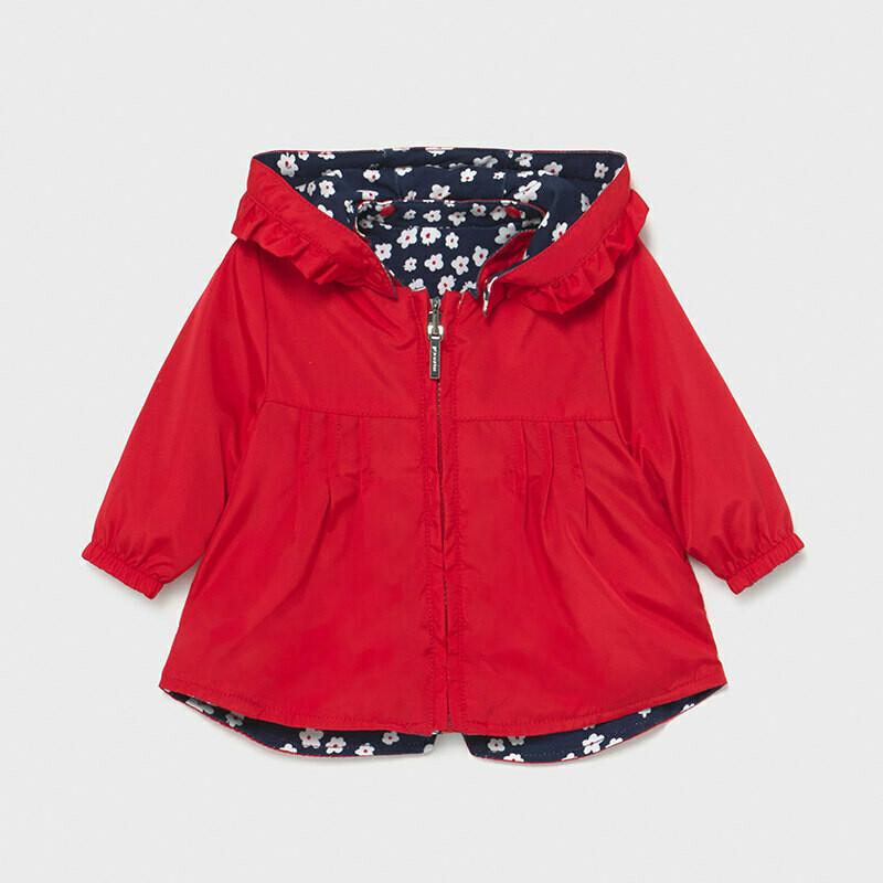Mayoral Baby Girls Reversible windbreaker coat