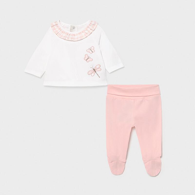 Mayoral Baby Girl leg warmer set