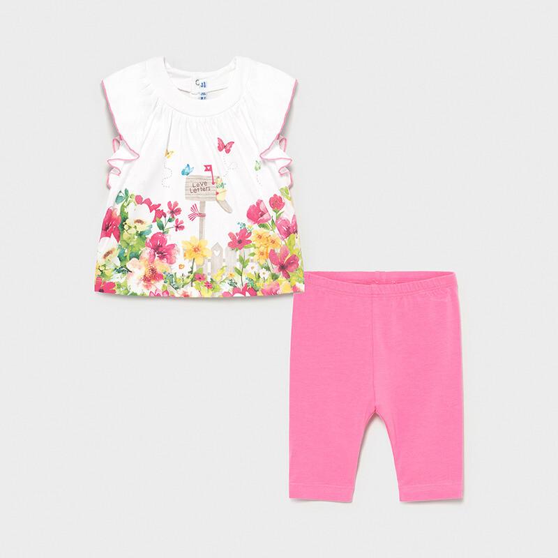 Mayoral Baby Girl  Camellia Leggings set for baby girl