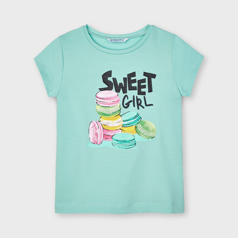 Mayoral Girls Emerald ECOFRIENDS t-shirt