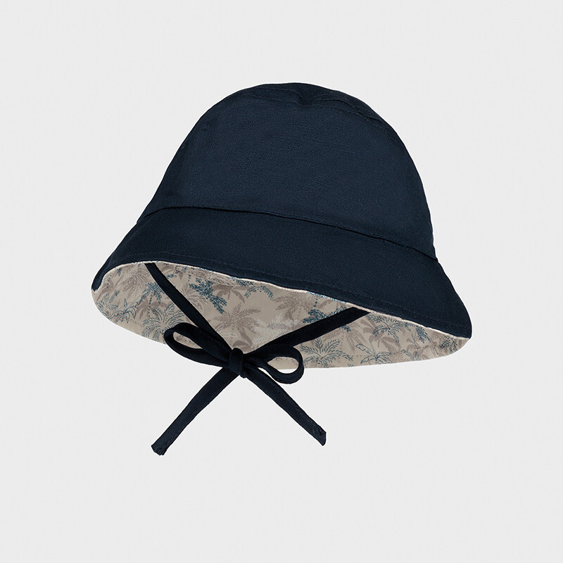 Mayoral Baby Boy Navy Linen hat