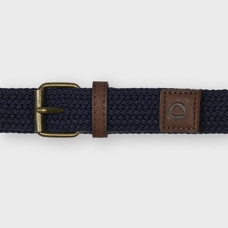 Mayoral Boys Elastic Braided belt Navy
