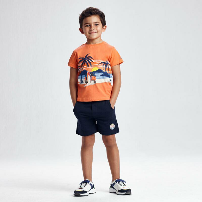 Mayoral Boys Set of 2  t-shirts and shorts
