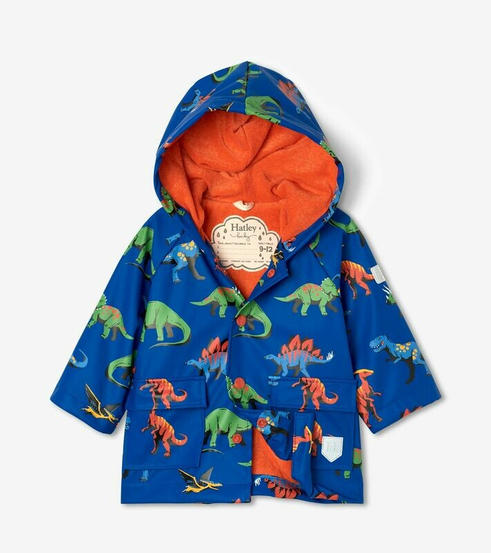 Hatley Friendly Dinos Baby BoysRaincoat