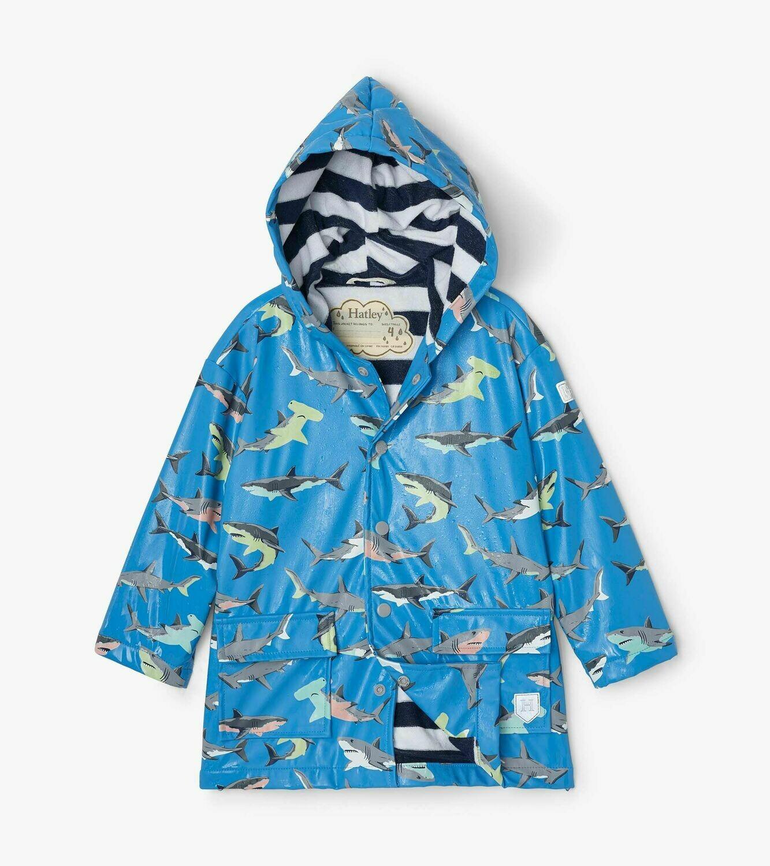 Hatley Boys Deep-Sea Colour Changing Raincoat
