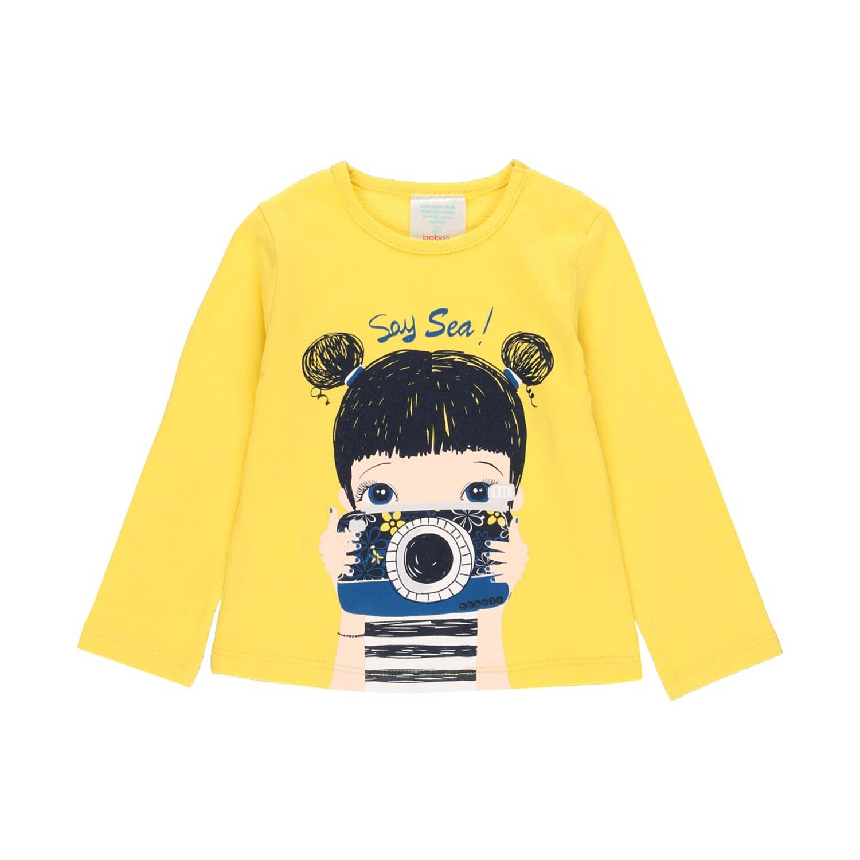 Boboli Girls Yellow  t-Shirt