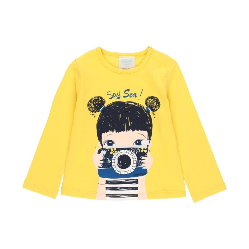 Boboli Girls Yellow  t-Shirt