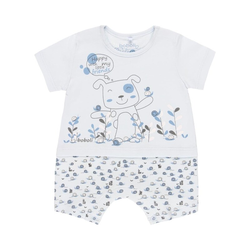 Boboli Baby Boys 1 Piece Play suit