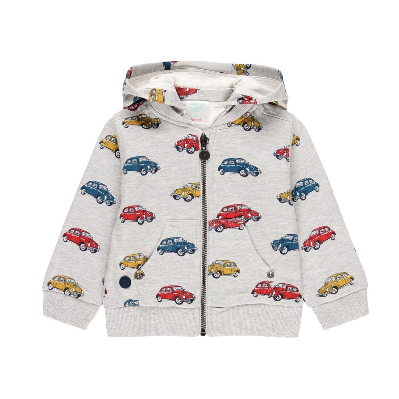 Boboli Boys Fleece jacket cars