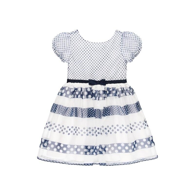 Boboli Teen Girls Dress Polka Print