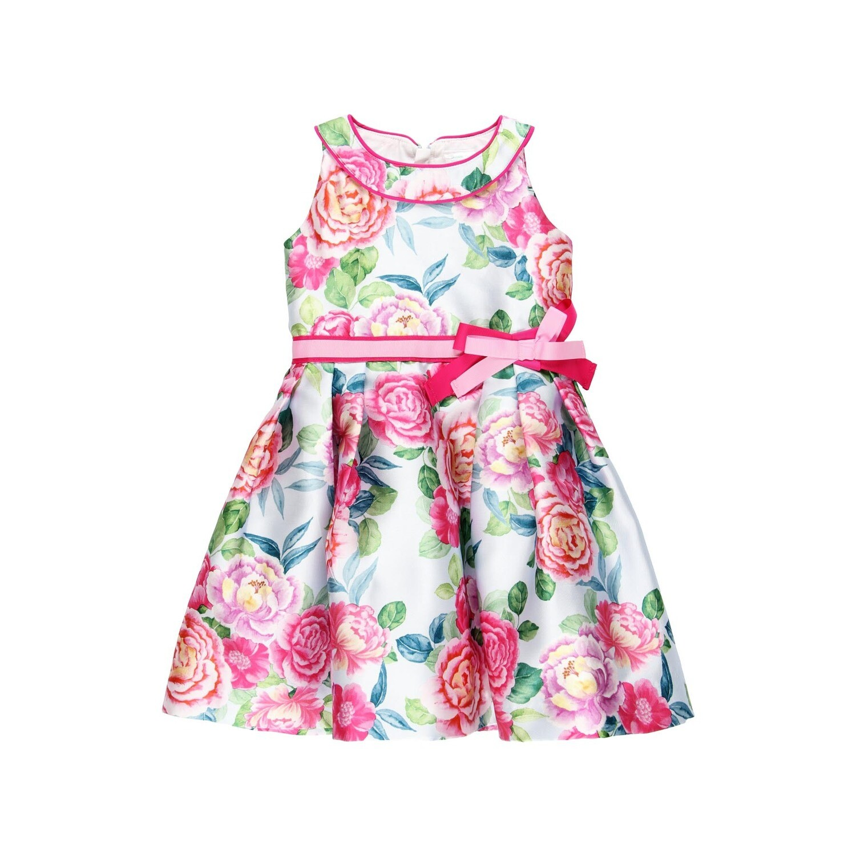 Boboli Teen Girls Dress Pink print