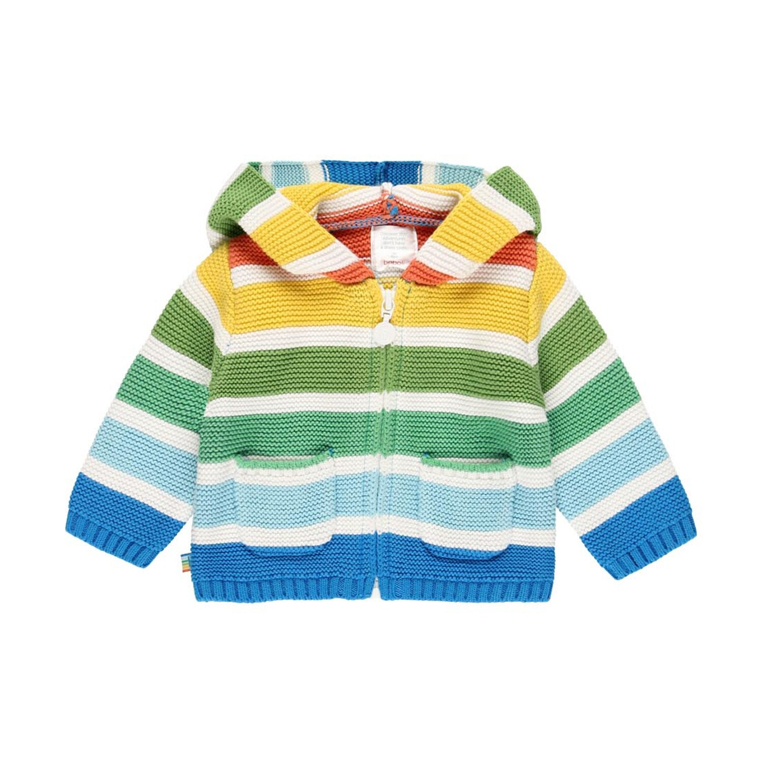 Boboli Baby Knitwear hooded jacket