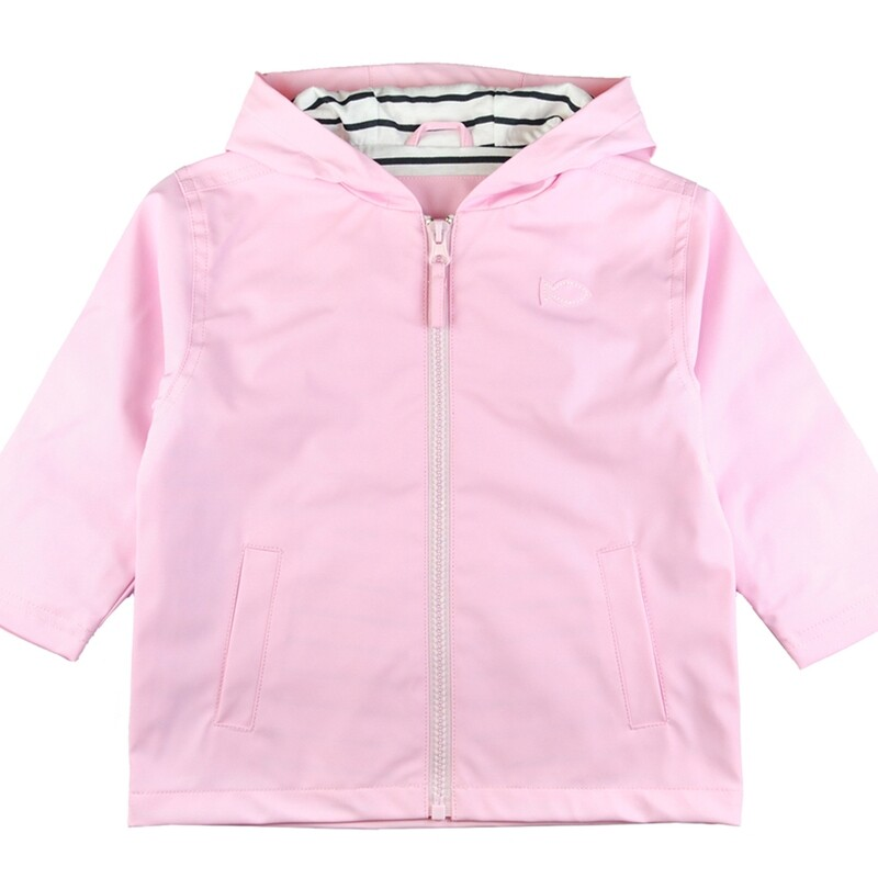 Weekend a La Mer Pink Raincoat