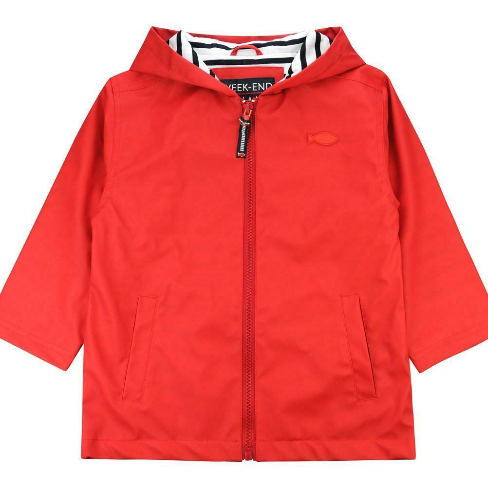 Weekend a La Mer RED  Raincoat
