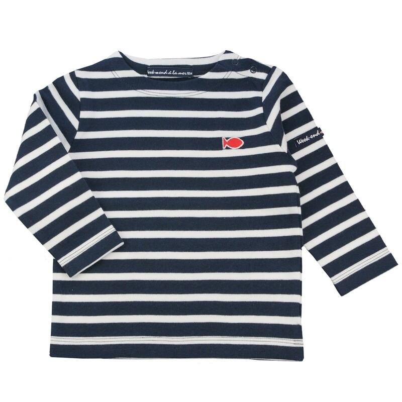 Weekend A La Mer  stripe long sleeved top