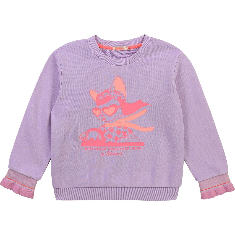 BillieBlush Lilac Sweatshirt for Girls