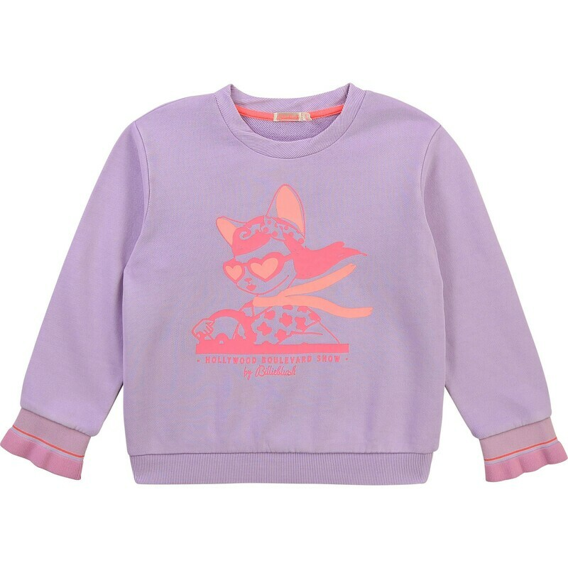 BillieBlush Lilac Sweatshirt for Girls