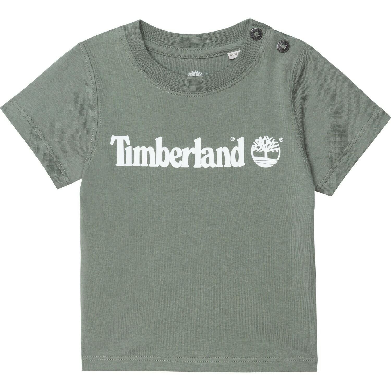 Timberland Mini Boys Green Organic Tee