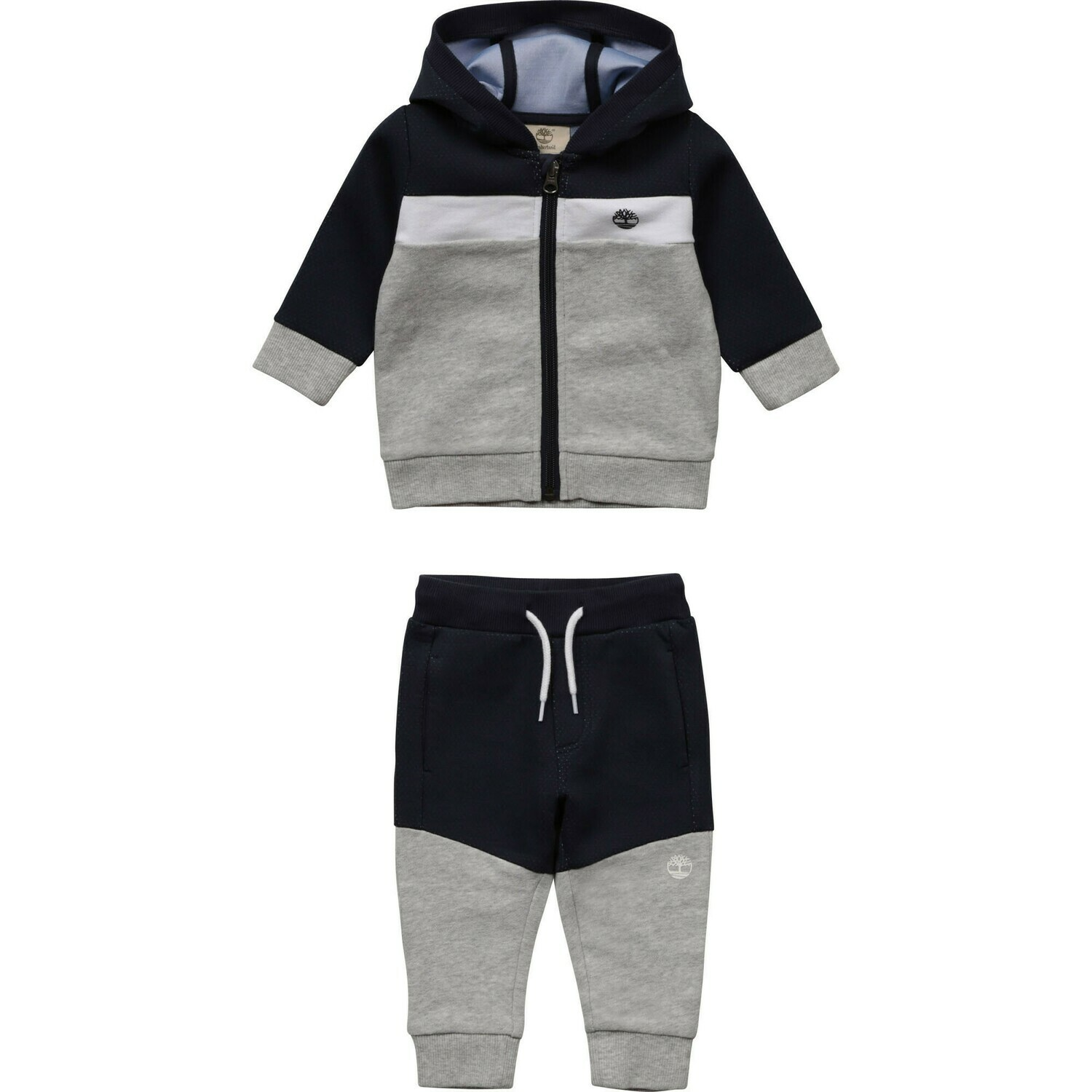 Timberland Mini Boys Navy blue and grey tracksuit