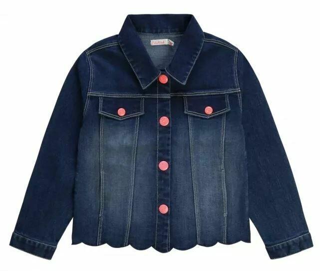 BillieBlush denim Jacket with  sequins