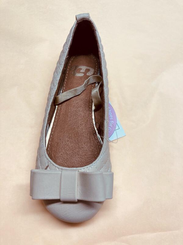 Mayoral Girls Cream Slip On Shoe