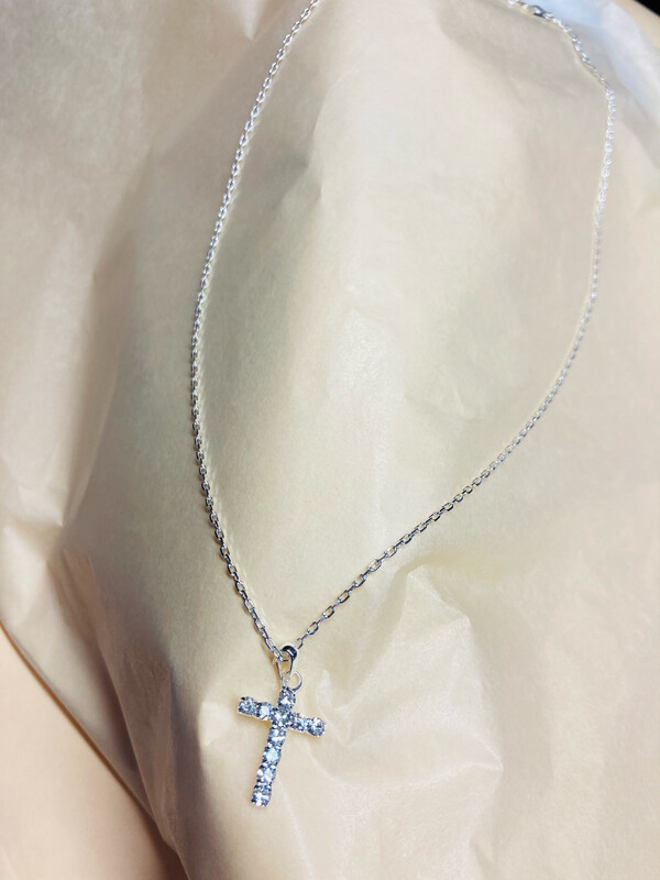 Communion Necklace keepsake with Cross