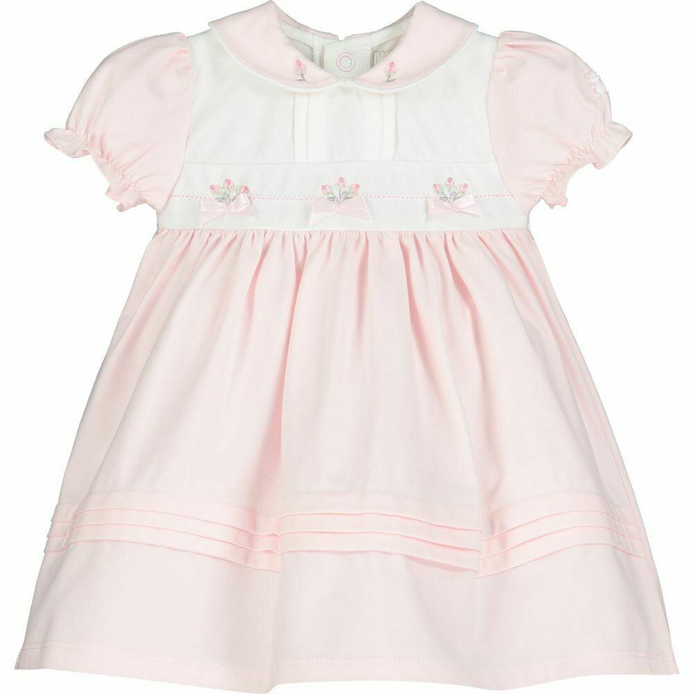 Emile et Rose Wisteria Baby Girls Pink Dress