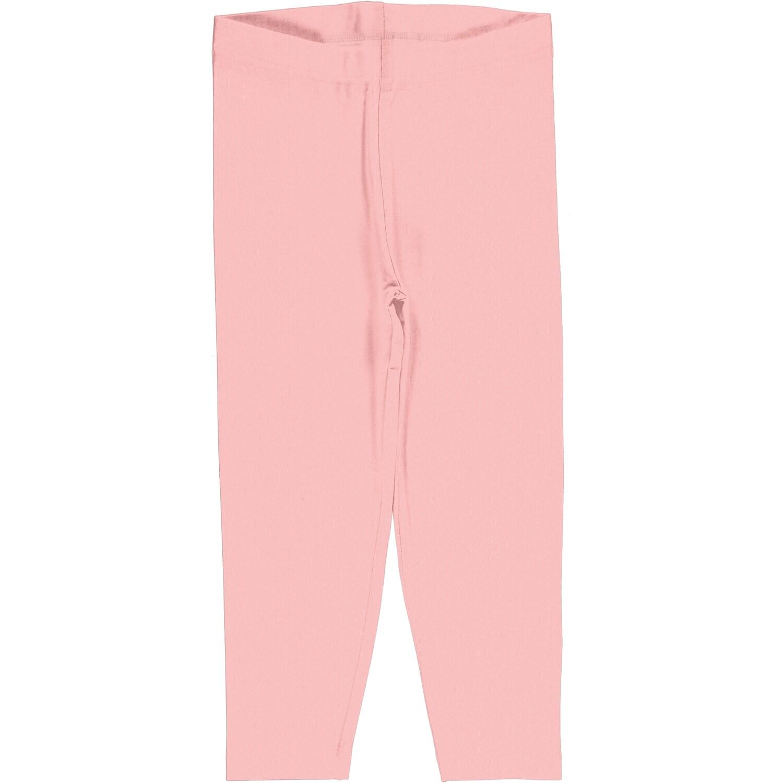 MAXOMORRA Plain Pink Leggings Cropped