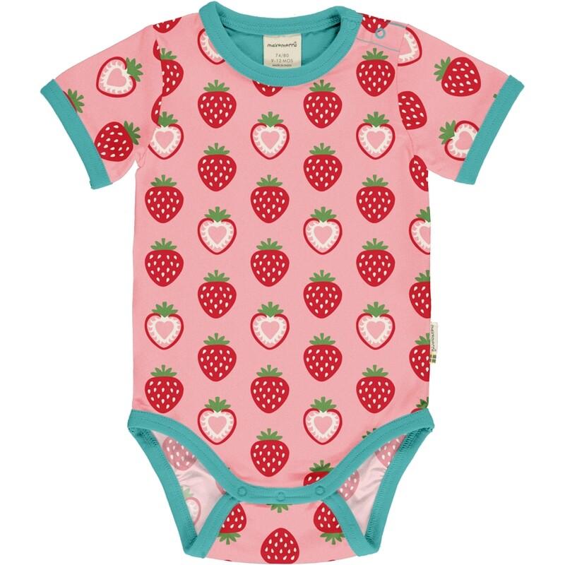 MAXOMORRA Strawberry Short Sleeved  Body