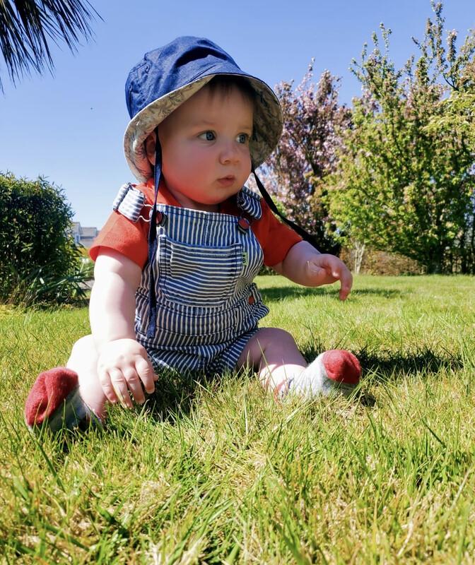 Mayoral Stripe Baby Boys Shorts Dungarees