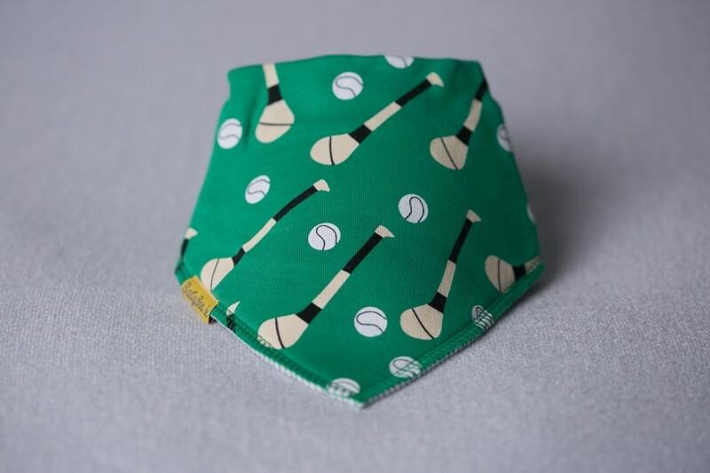 Babyboo Green GAA mad  Organic Cotton Bib