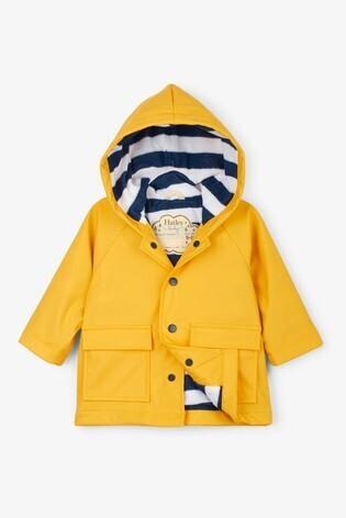 Hatley  Baby Boys Mustard Yellow Raincoat
