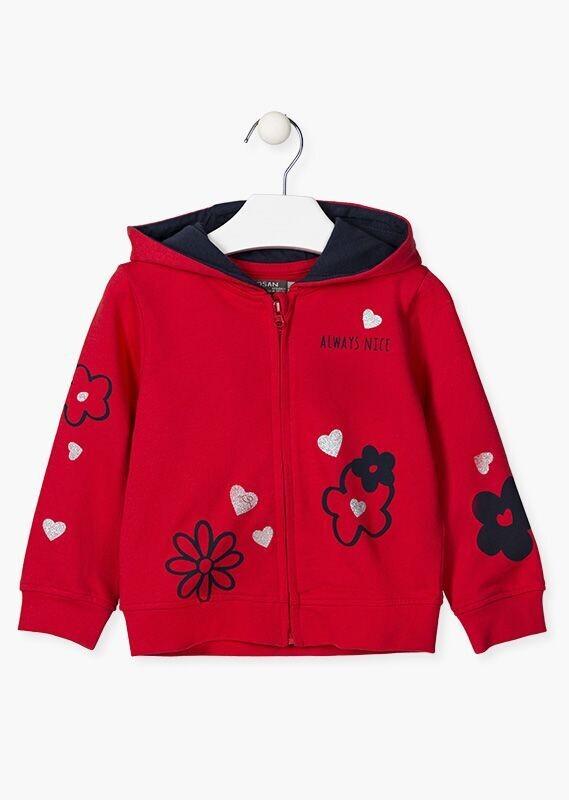 Losan Girls Cotton Jacket with zip
