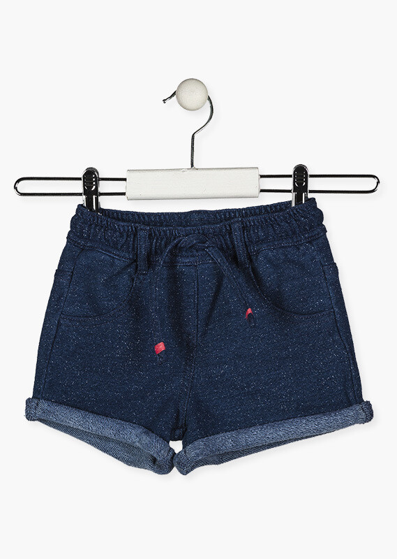 Losan Girls Denim effect soft shorts