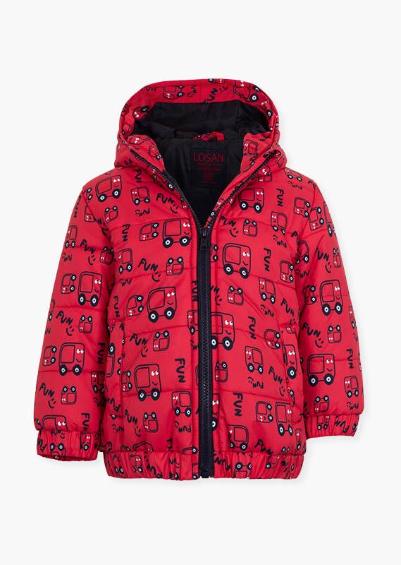 Losan Mini Boy Red Car Jacket