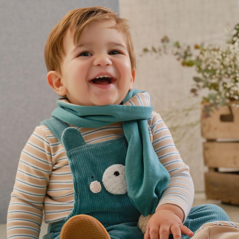Tutto Piccolo Baby Boys Cord  Dungaree Set