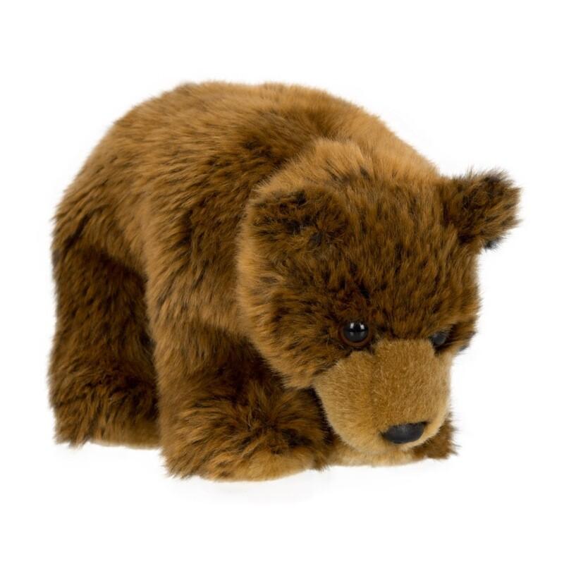"""WWF Grizzly bear floppy – 15 cm – 6"""""""