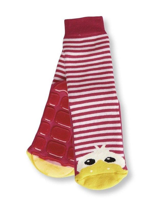 Dee the Duck Slipper Sock