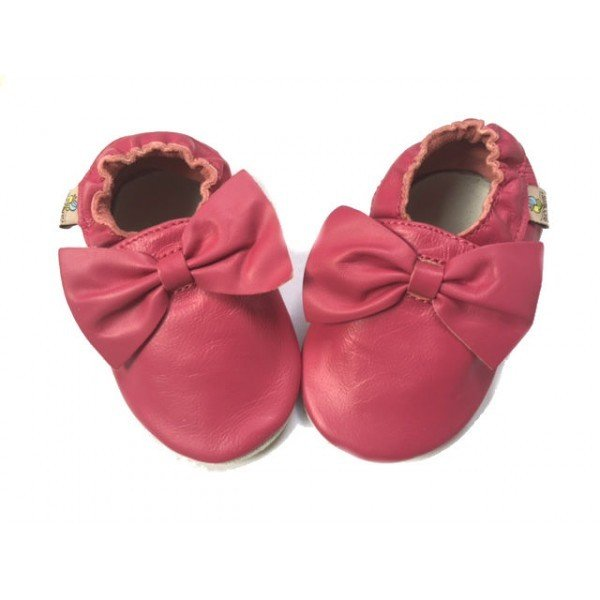Fushia BOW Shoobees
