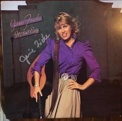 It Ain't Easy - Autographed Vinyl