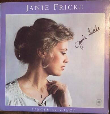 Singer of Songs - Autographed Vinyl
